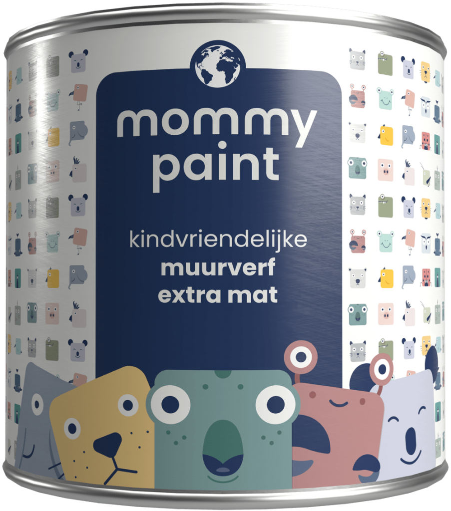 muurverf extra mat mommy paint